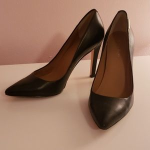 Calvin Klein Black Heels - like New!